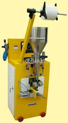 Round Tea Beg Pouch Machine