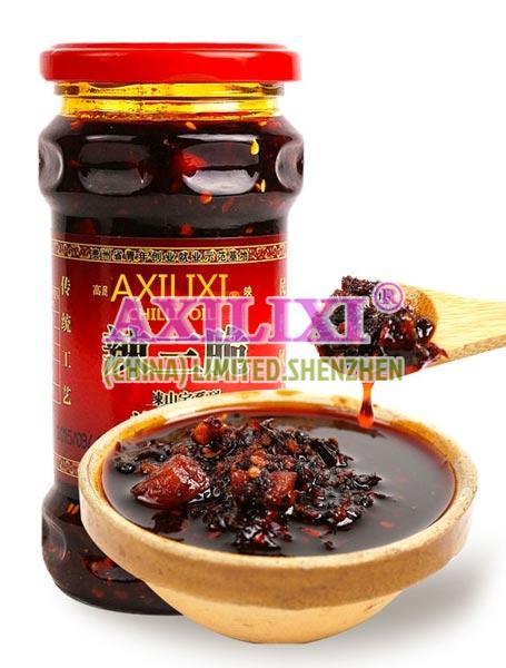 Axilixi Shredded Pork Chilli Oil Sauce