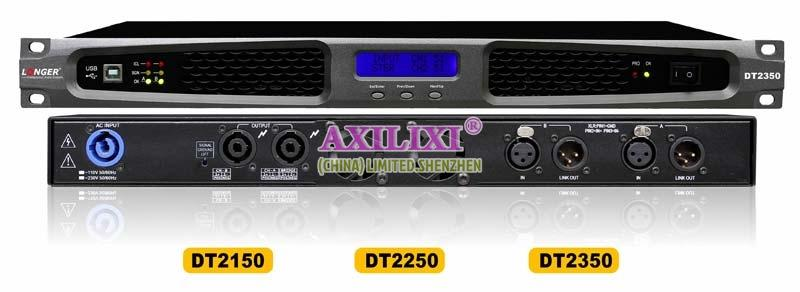 LONGER AUDIOS 2x150 Watts Digital Power Sound Amplifiers DT2150