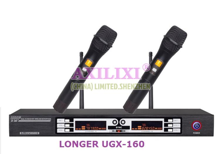 UHF 2X100ch  Wireless Microphone LONGER UGX-160