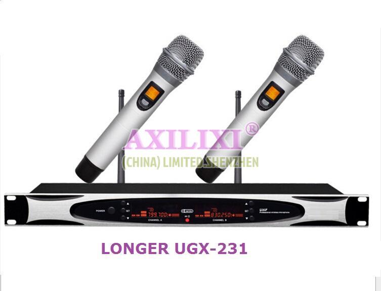 UHF True Diversity  Wireless Microphone LONGER UGX-231