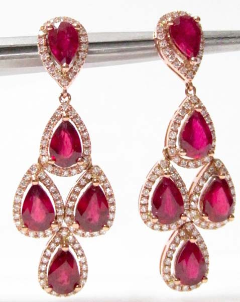 Diamond Chandelier Earring (CWCGE201)