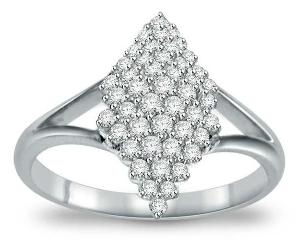 Diamond White Gold Ring (CWDWGR0001)