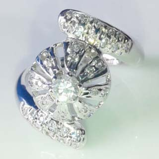 Silver CZ Ring (CWCZR264)