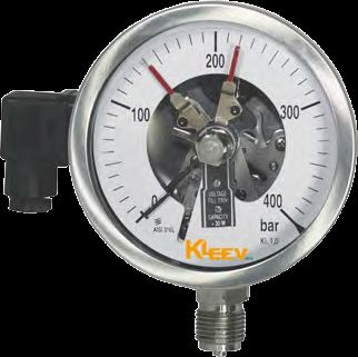 Stainless Steel Electric Contact Gauge