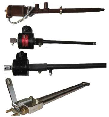 IAEC Gas Burner Flame Rod