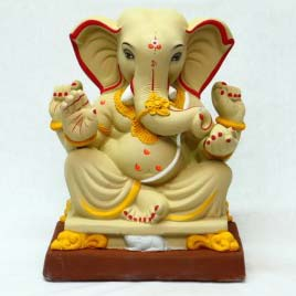 """Ambuja Ganesha Idol 13"""""""