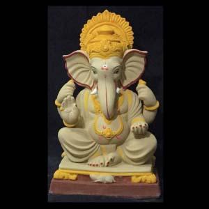 """Gajmukh Ganesha Idol 14"""""""