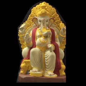 "Lalbaug Raja Ganesha Idol 24"""