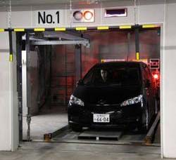 Automated Car Parking Lift