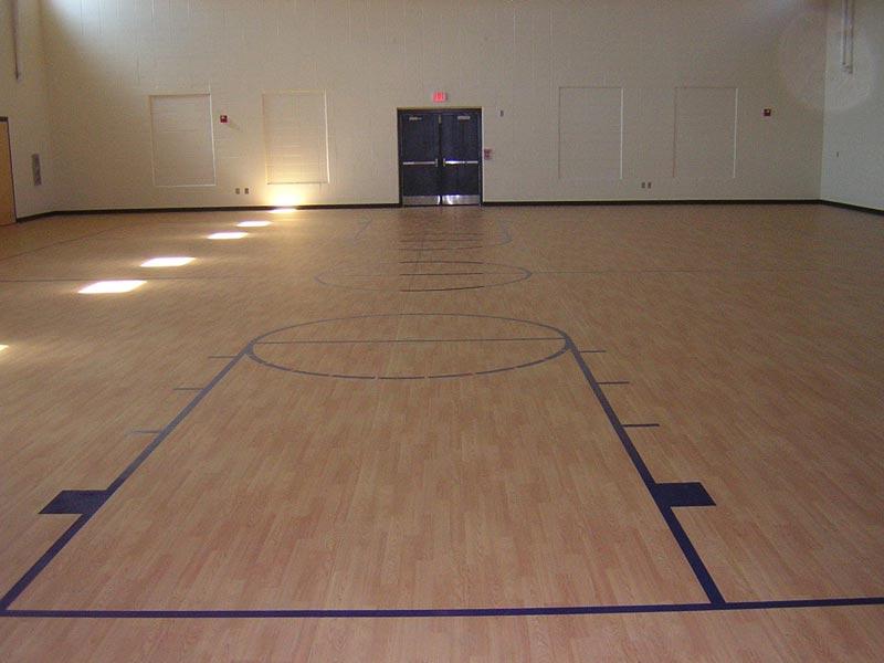 Indoor Basketball Court Flooring
