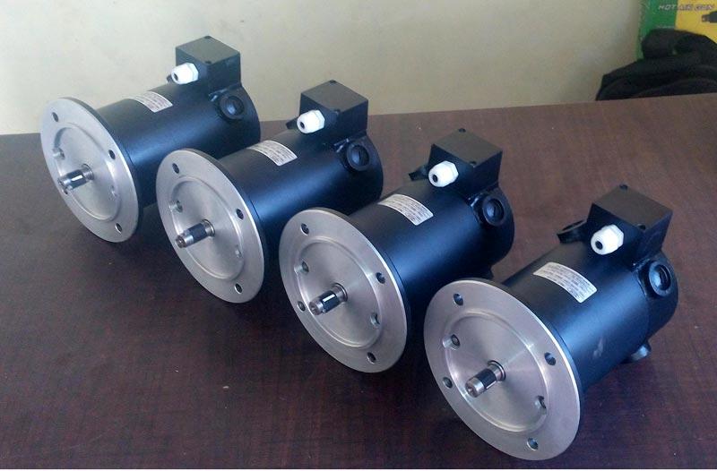 Electrical Ac Geared Motor Helical In Line Geared Motors