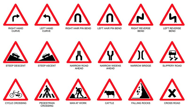Cautionary Sign Boards