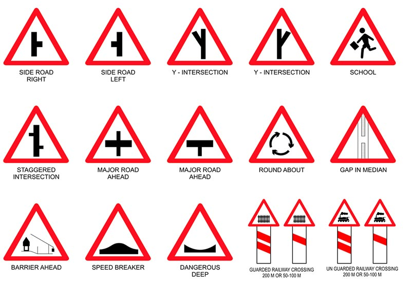 Triangle Road Signs >> Cautionary Sign Boards,Traffic Sign Boards,Railway Sign Board Suppliers