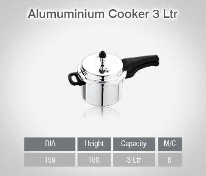Aluminium Pressure Cookers