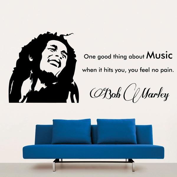 Bob Marley Wall Decal