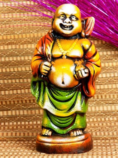 Terracotta laughing buddha terracotta laughing buddha for Does buddha bring good luck