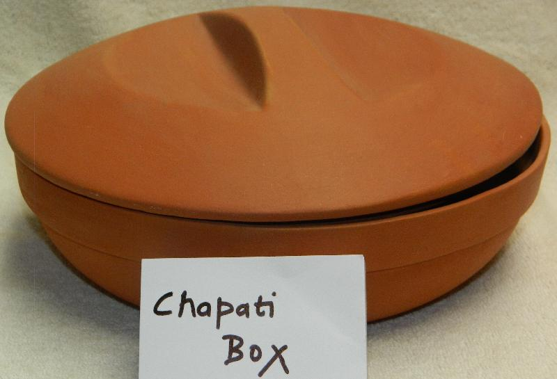 Terracotta Chapati Box