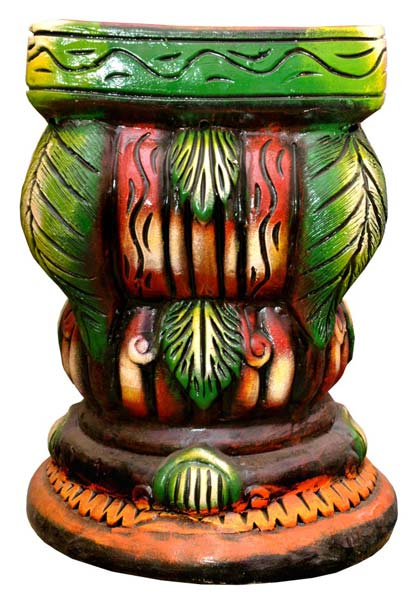 Terracotta Pillar