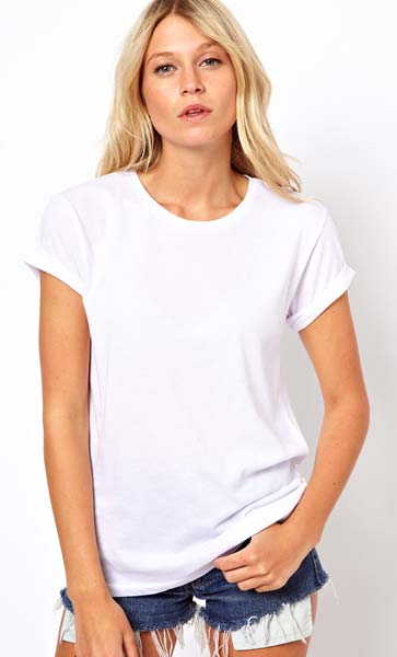 ladies round neck t shirts ladies plain round neck t shirt