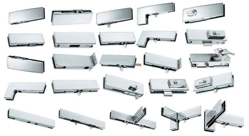 Glass Hardware Fittings Glass Shelf Brackets Glass Shower