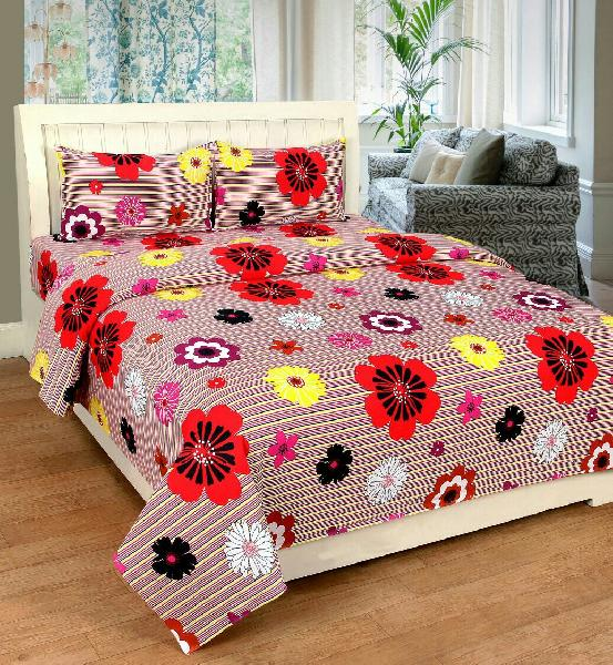 Bajaj Cotton Bed Sheets