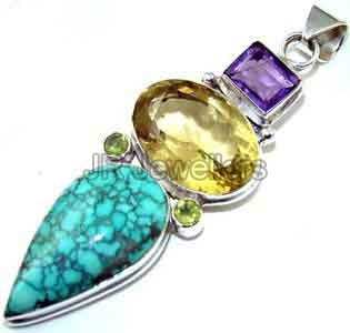 Gemstone Fashion Pendants