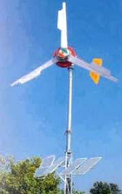 Solar Wind Generator Exporter