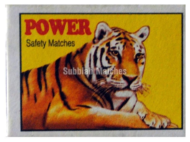 POWER Safety Matches=>Power Super Safety Matchbox