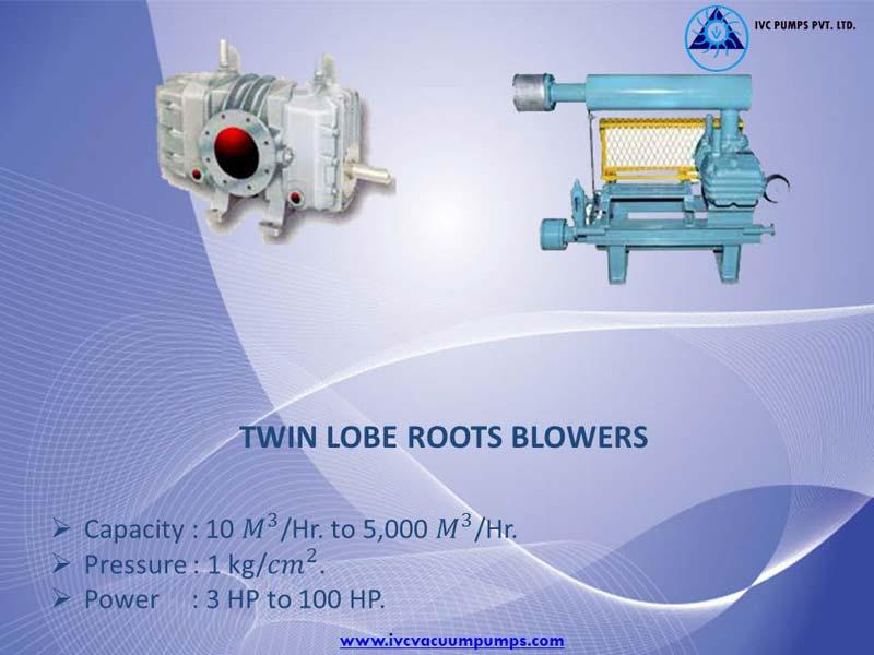 Twin Lobe Roots Blower