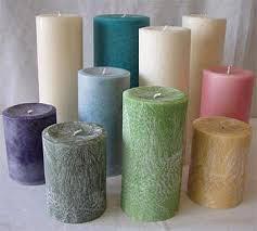 Pillar Candle 01