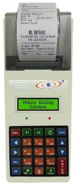 Mobile Billing Machine