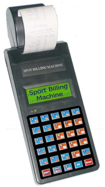 Spot Billing Machine
