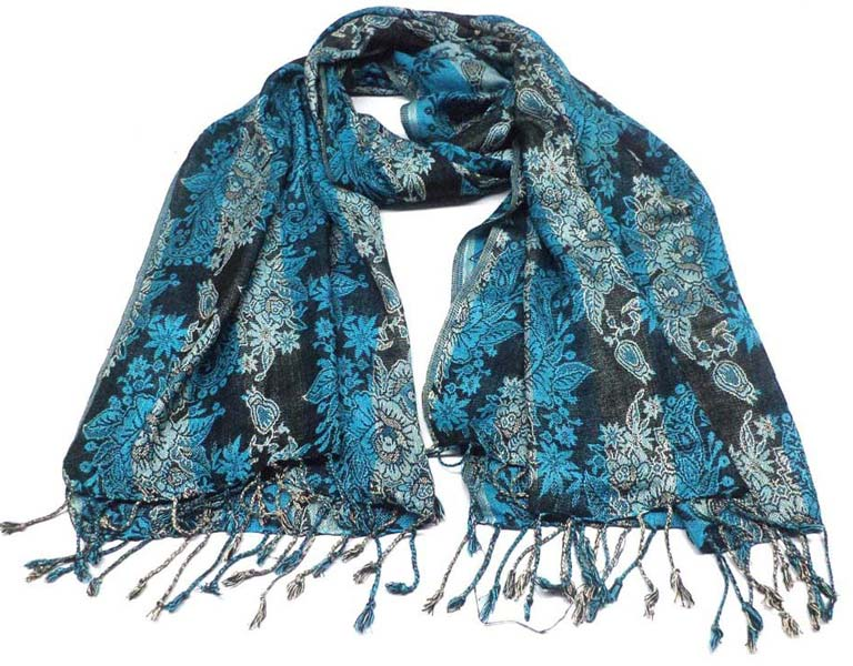 Ladies Viscose Jacquard Scarves