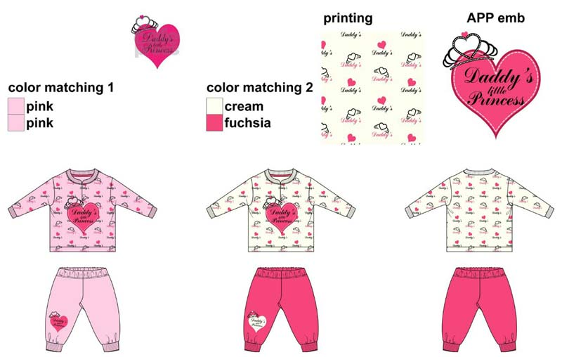 Kids T-Shirt & Short Set