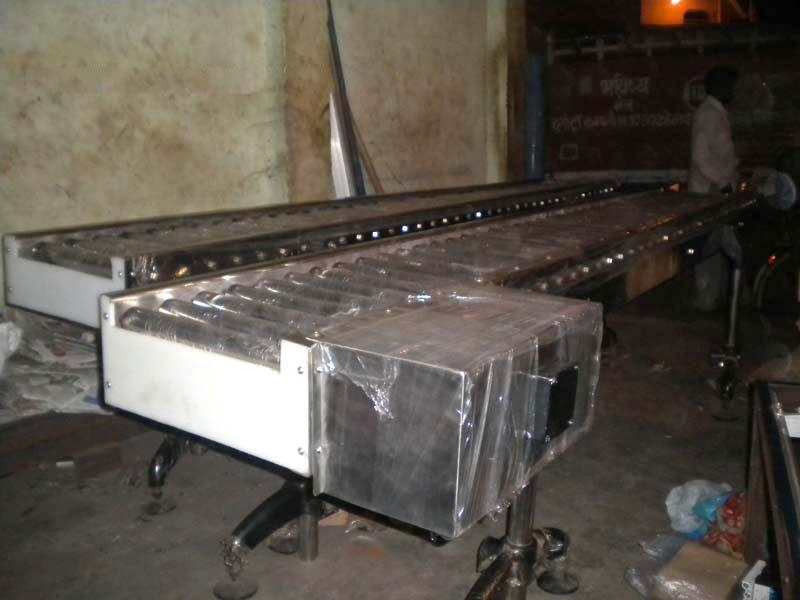 Stainless Steel Roller Chain Conveyor