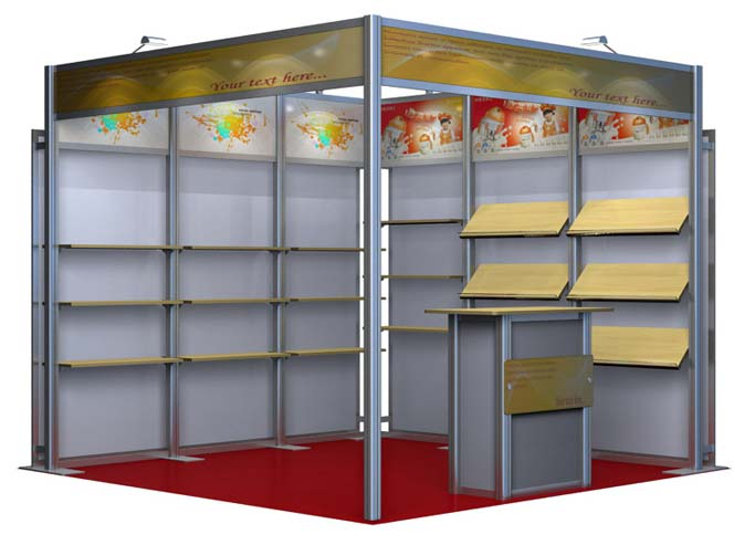 Modular Exhibition Booth (AK-3006)