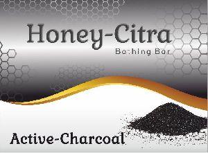 Honey Citra Active Charcoal Bathing Bar