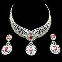 Diamond Necklace Set (DS-2109)