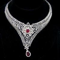 Diamond Necklace Set (DS-2119)
