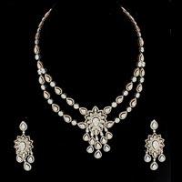 Diamond Necklace Set (DS-2155)