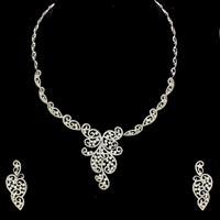 Diamond Necklace Set (DS-2157)