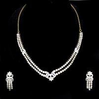 Diamond Necklace Set (DS-308)