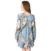 Lace Work Short One Piece Dresses (ED13320VL-5)