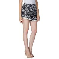 Ladies Border Lace Shorts (5983-4)