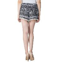 Ladies Border Lace Shorts (5983-5)