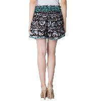 Ladies Ethnic Printed Shorts (EN70513VZ-5)