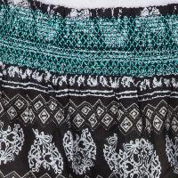 Ladies Ethnic Printed Shorts (EN70513VZ-6)