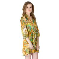Poly Stain Short One Piece Dresses (AM160606-3)