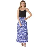 Printed A Line Long Skirts (AM020517-1)